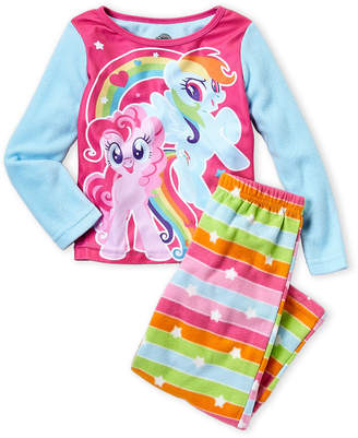 My Little Pony Girls 7-16) 2-Piece Character Print Shirt and Pant Set