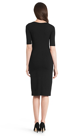 Diane von Furstenberg Raquel Knit Bodycon Dress