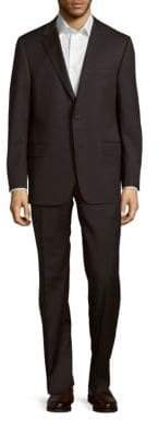 Hickey Freeman Milburn II Classic Fit Wool Suit