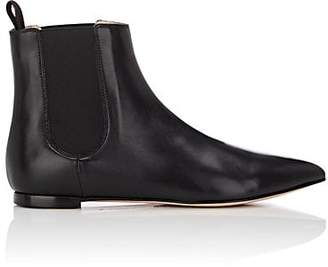 Gianvito Rossi Women's Nappa Leather Chelsea Boots - Black