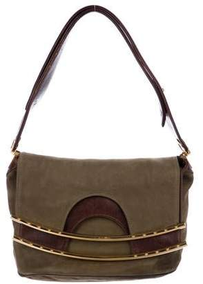 Hayward Nubuck Fold-Over Bag