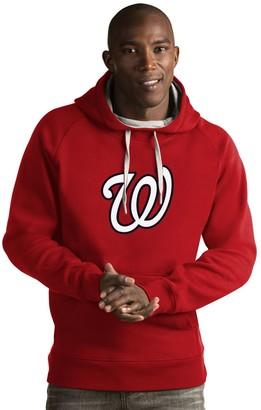 Antigua Men's Washington Nationals Victory Logo Hoodie