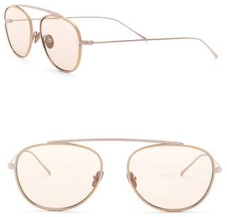 Cat Eye SUNDAY SOMEWHERE Rocky 55mm Modified Aviator Sunglasses