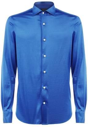 Pal Zileri Slim Fit Jersey Shirt