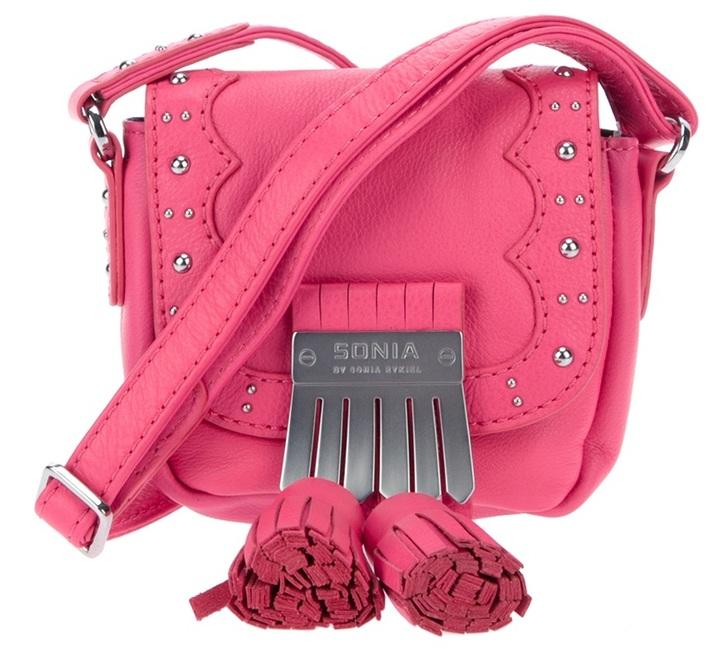 Sonia By Sonia Rykiel studded shoulder bag