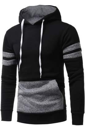 Teresamoon Clearance Sale ! Hooded Sweatshirt Mens' Hoodie Tops Jacket Coat Outwear (XL, )