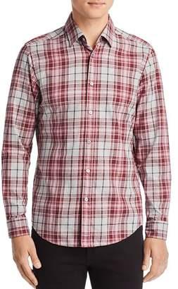 b2508b11f HUGO BOSS BOSS Lukas Plaid Regular Fit Flannel Shirt