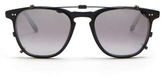 Garrett Leight Brooks 47 Glasses - Mens - Black Multi