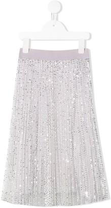 MonnaLisa sequin skirt