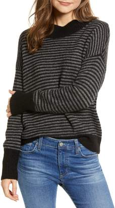 Rails Ellise Stripe Cashmere & Silk Sweater