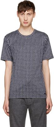 Burberry Navy Smithurst T-Shirt $395 thestylecure.com
