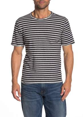 Joe's Jeans Engineered French Terry Stripe Print T-Shirt