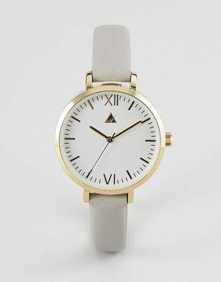 Asos Minimal Gold and Gray Watch