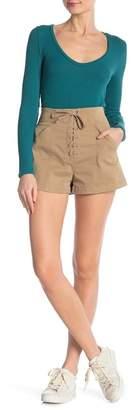 A.L.C. Kyle Lace Front Shorts