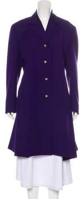 Gianni Versace Vintage Virgin Wool Coat