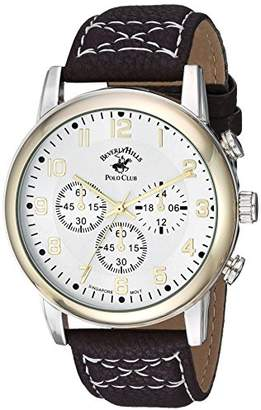 Beverly Hills Polo Club US Men's 'Beverly Hills Polo Club' Quartz Metal and Alloy Casual Watch