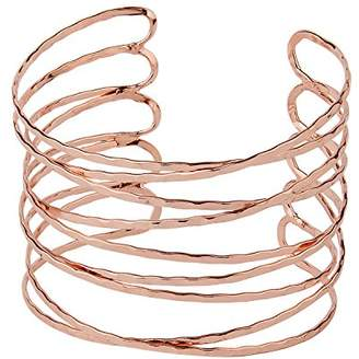 Front Row Gold Colour Leaf Upper Arm Bangle vgCuxWc