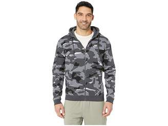 Nike NSW Club Camo Hoodie Full Zip BB
