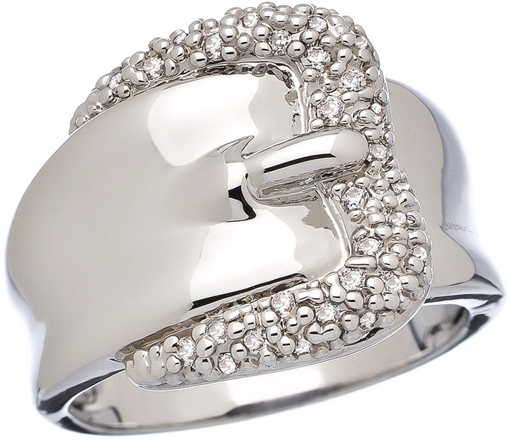 JG Max and Chloe CZ Belt Ring
