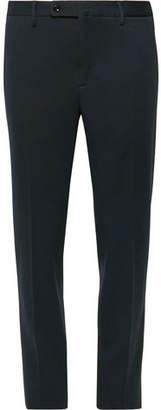 Incotex Midnight-blue Slim-fit Woven Trousers - Midnight blue