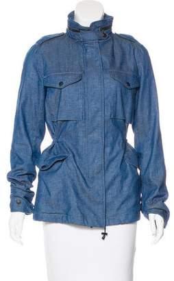 Rag & Bone Chambray Casual Jacket