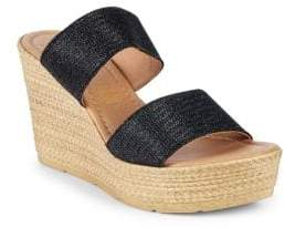 Seychelles Textured Wedge Espadrilles