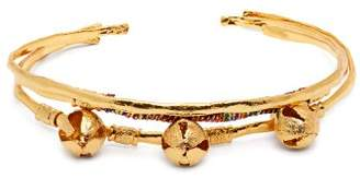 Elise Tsikis - El Ciento Gold Plated Bangle Set - Womens - Gold