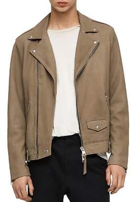 AllSaints Elwick Nubuck Biker Jacket