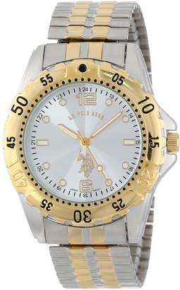 U.S. Polo Assn. Men's Two Tone Analogue Dial Expansion Watch USC80052