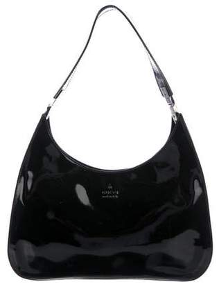 Gucci Patent Leather Hobo
