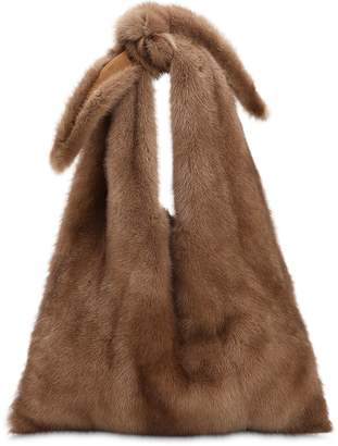 Simonetta Ravizza Furrissima Mink Fur Shoulder Bag