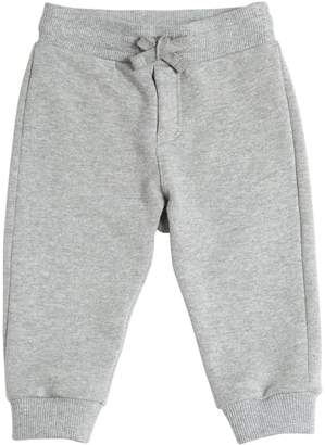 Dolce & Gabbana Embroidered Cotton Jogging Pants