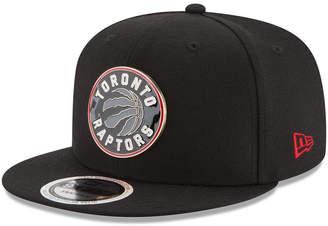 New Era Toronto Raptors Enamel Badge 9FIFTY Snapback Polyester Cap