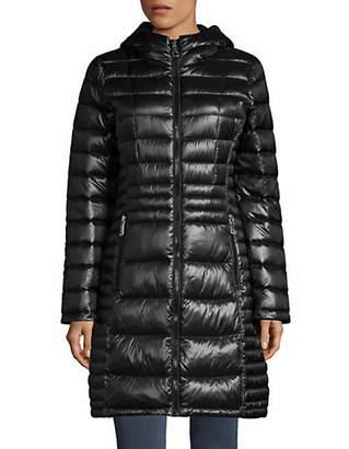 Calvin Klein Petite Walker Hooded Packable Down Jacket