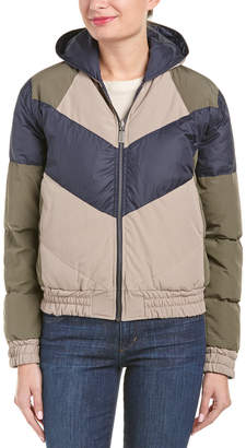 Anine Bing Quilted Bomber Jacket