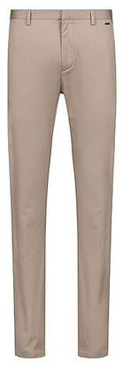 Slim-fit trousers in lightweight stretch-cotton gabardine