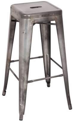 Benzara Metal Bar Stool, Set-2