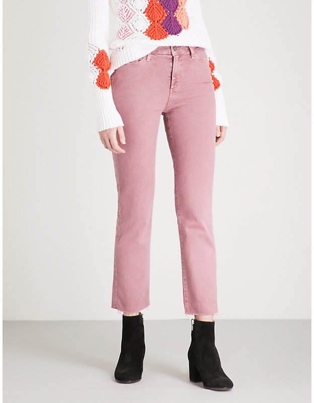 Hoxton straight high-rise jeans