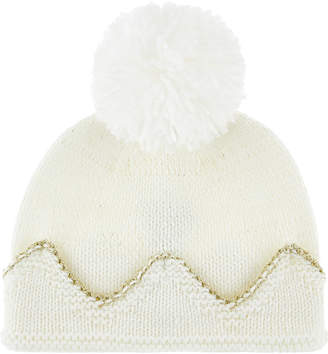Monsoon Baby Kerry Crown Bobble Hat
