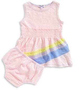 Splendid Baby's Two-Piece Rainbow Dress and Panty Set
