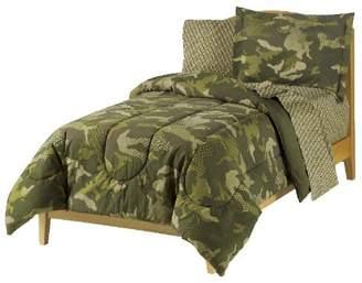 Factory Dream Geo Camo Army Boys Comforter Set