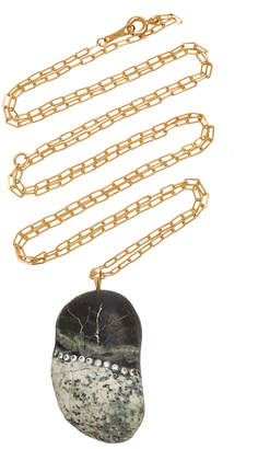 Cvc Stones Surreal 18K Gold, Diamond And Stone Necklace