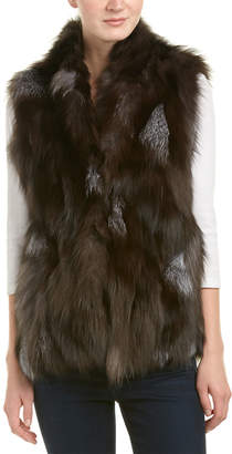 Adrienne Landau High Neck Vest