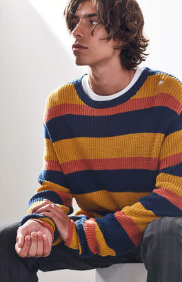 Insight End Day Stripe Crew Neck Sweater
