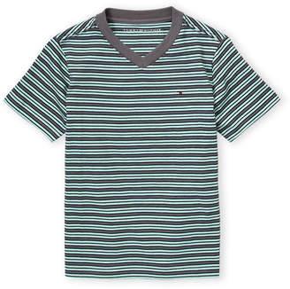 Tommy Hilfiger Boys 4-7) Nautical Stripe Short Sleeve Tee