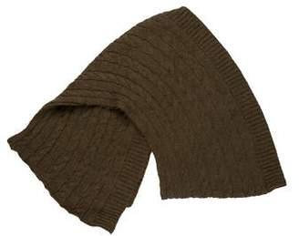 Ralph Lauren Cable Knit Wool-Blend Scarf