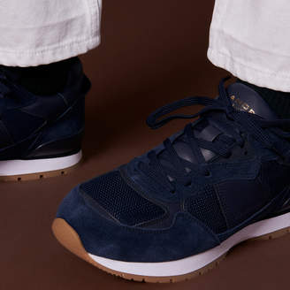 Sandro Dual Material Running sneakers