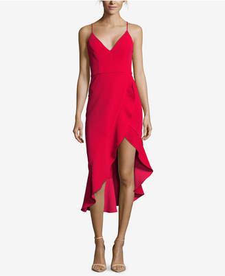 Xscape Evenings Ruffled High-Low Dress