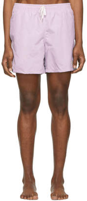 Bather Purple Solid Swim Shorts