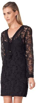 Hale Bob Marja Lace Jacquard Dress